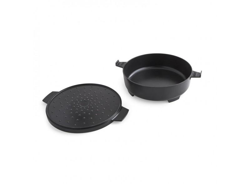 Olla 2 en 1 Gourmet BBQ System