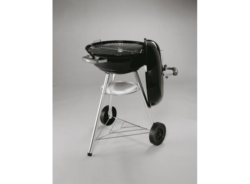 Weber Holzkohlegrill Compact Kettle ø 47 Cm : Compact kettle cm negra recambios de barbacoas weber online