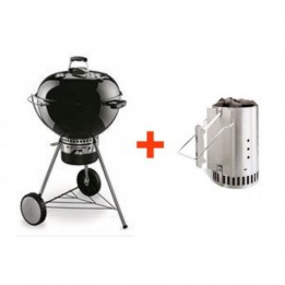 Master-Touch 57 cm Weber in Black Promo Pack