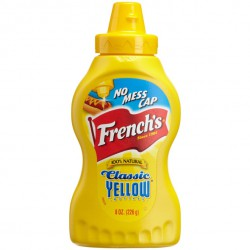 French's Yellow mustard squeeze 226 gr.