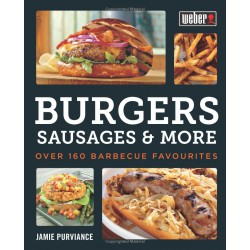 Libro Weber Burgers, Sausages & More