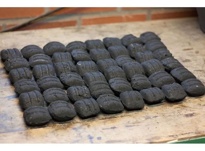 Saco 8 Kg de Briquetas de Carbón Vegetal