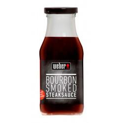 Salsa Weber Bourbon Smoked Steak 240 ml.