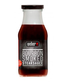 Salsa Weber Bourbon Smoked Steak 240 ml.