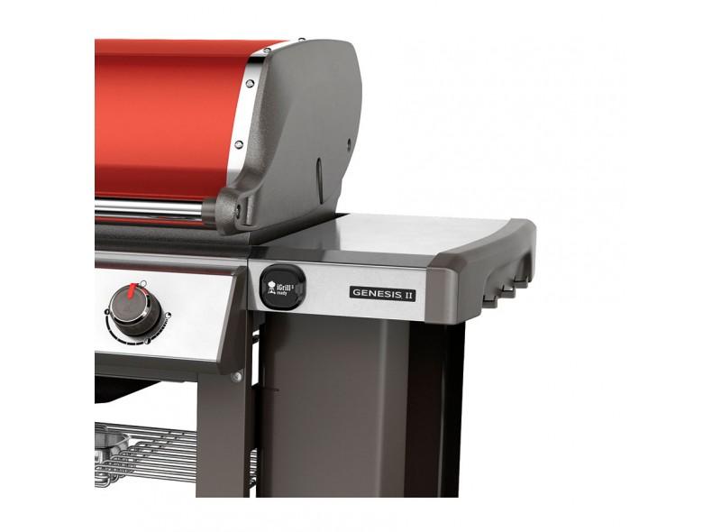 Weber Genesis II E-410 GBS Rojo Carmesí
